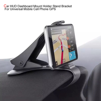 Car HUD Dashboard Mount Holder Stand Bracket for Universal Mobile Cell Phone GPS Car Accessories Interior Car Hanging Accessorie new arrival smart cell phone holder mount head up display car hud phone gps navigation wireless charger stand for iphone 8 plus