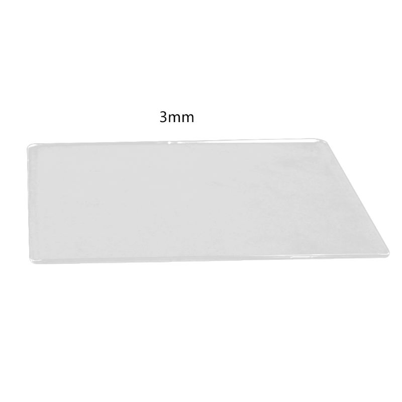 DIY Scrapbooking Die-Cut Machine Plate 3MM/5MM Die Cutting Embossing Machine Plate Replacement Pad DXAC