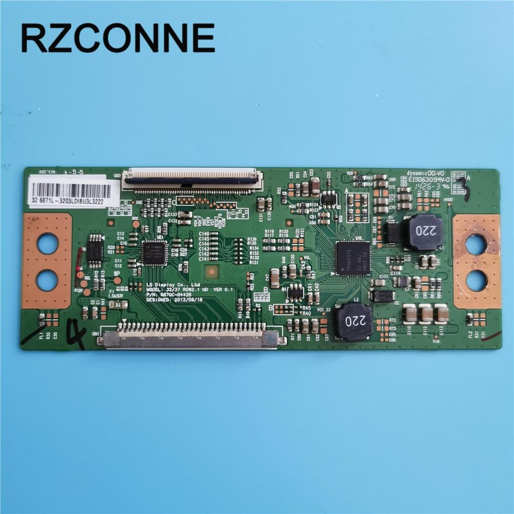 T-con  Board For LG  32/37 ROW2.1 HD VER 0.1 6870C-0442B LED32EC330J3D