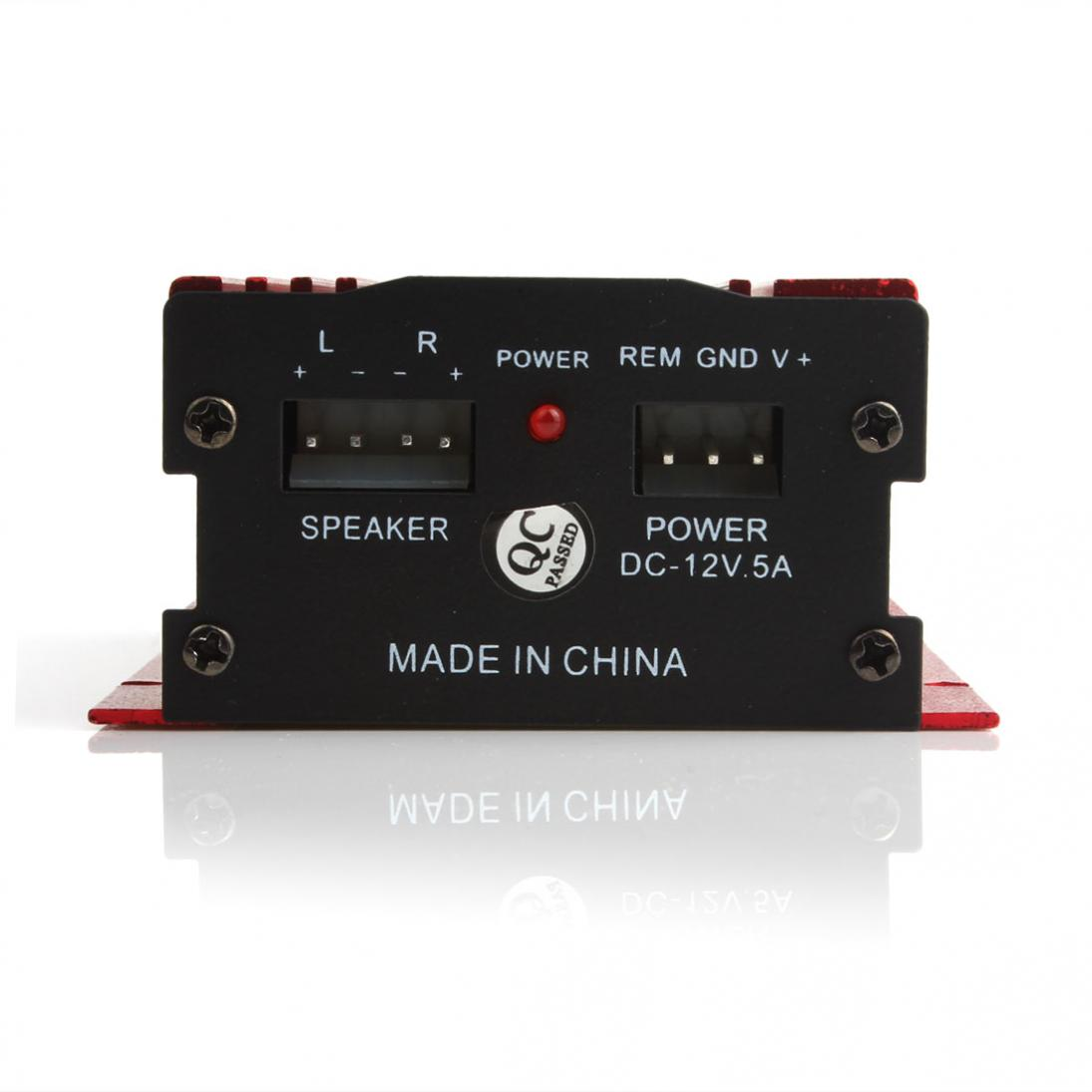 Amplificador de áudio hi-fi estéreo 500w, mini