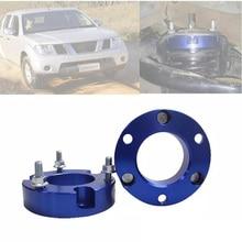 Front Suspension Lift Up Kits For Nissan Pickup Navara np300 D40 D23 Coil Spacers Strut Shocks Absorber Spring Raise 32mm