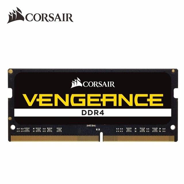 CORSAIR VENGEANCE®RAM DDR4 SO-DIMM CMSX 8GB 16GB 32GB 2400MHz 2666MHz 3000MHz 8G Notebook Kit de memoria 260pin 1,2 V PC4 para ordenador portátil