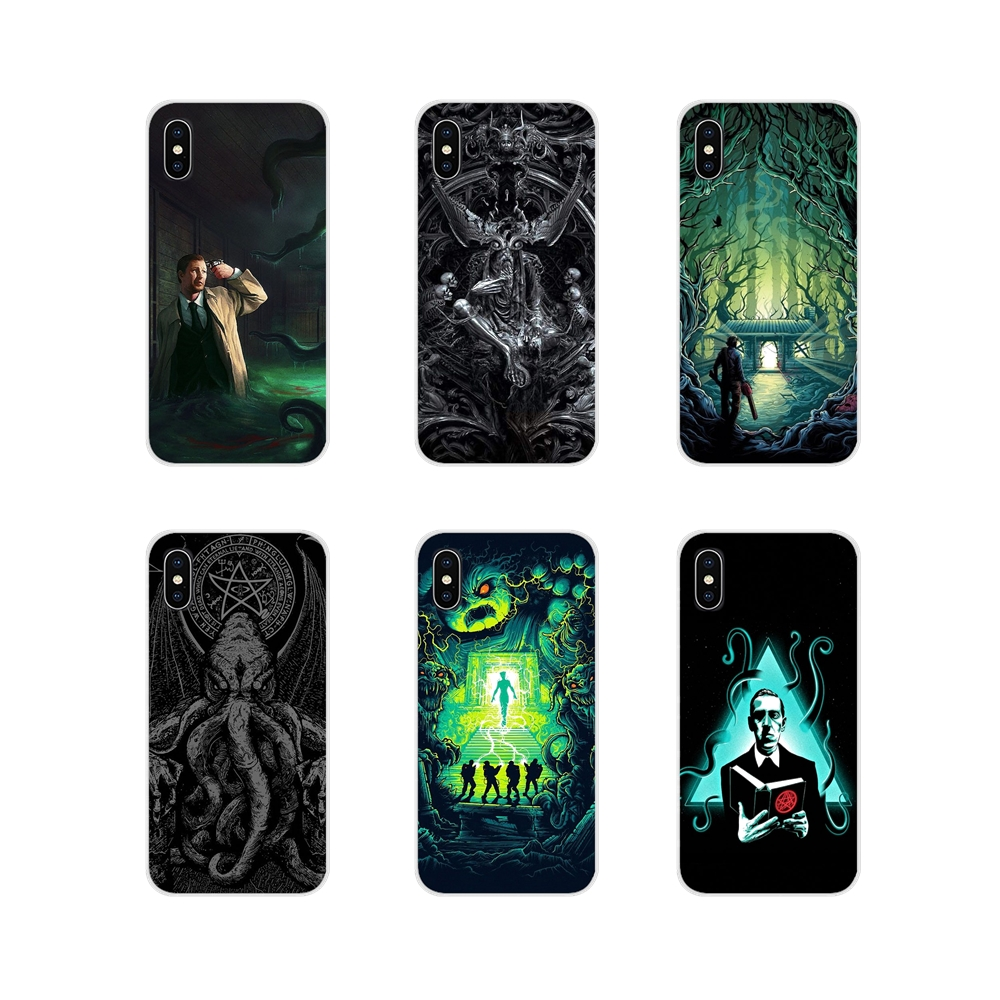 TPU Transparent Shell Cover For Oneplus 3T 5T 6T <font><b>Nokia</b></font> 2 3 5 6 8 9 <font><b>230</b></font> 3310 2.1 3.1 5.1 7 Plus 2017 2018 Lovecraft Film Festival image