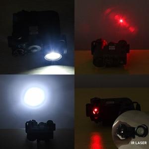 Image 2 - WADSN טקטי אור 14DBAL IR אדום לייזר Airsoft ציד מנורת DBAL EMKII פנס DBAL D2 14DBAL נשק אקדח אור