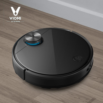 Global Version Xiaomi VIOMI V3 LDS Laser Navigation Wet and Dry Robot Vacuum Cleaner, Mopping 250m², UP to 150 mins Battery Life