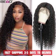180 dichte 360 Wasser Welle Spitze Lront Perücke Brasilianische Haar Perücken Für Schwarze Frauen PrePlucked 13X4 Spitze Frontal Menschliches Haar perücken Beyo