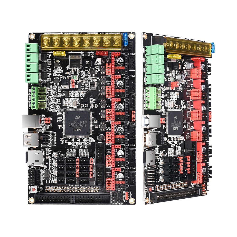 Bigtreetech gtr v1.0 placa de controle 32bit placa com placa de expansão m5 tmc2209 tmc2208 11 driver do motor para impressora 3d