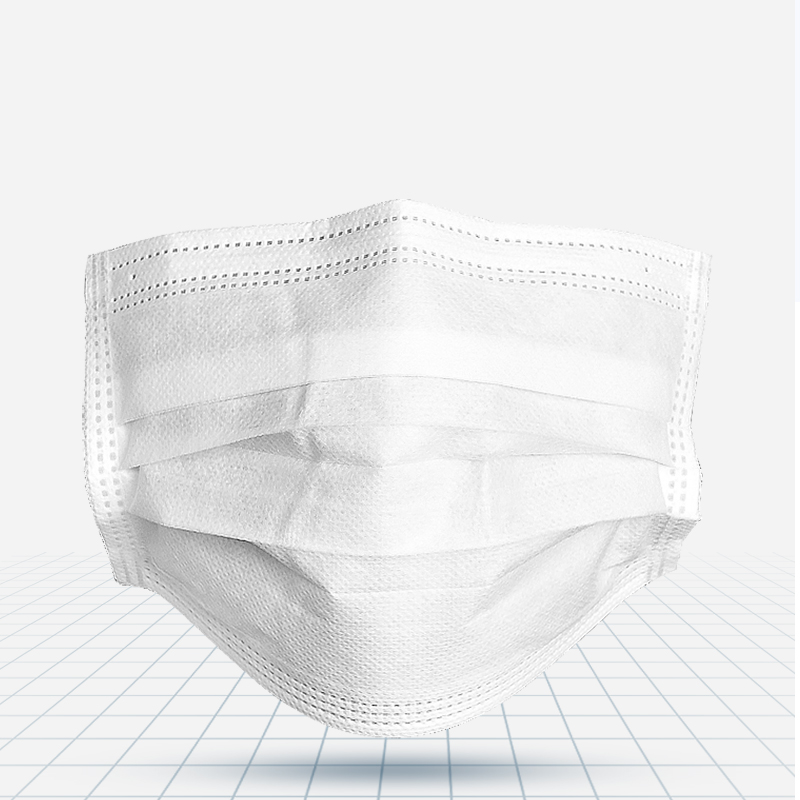 White 마스크 Antibacterial Breathable Three Floors Filter Face Mouth Masks Disposable Unisex Safety Masks Mascarillas Bacterial