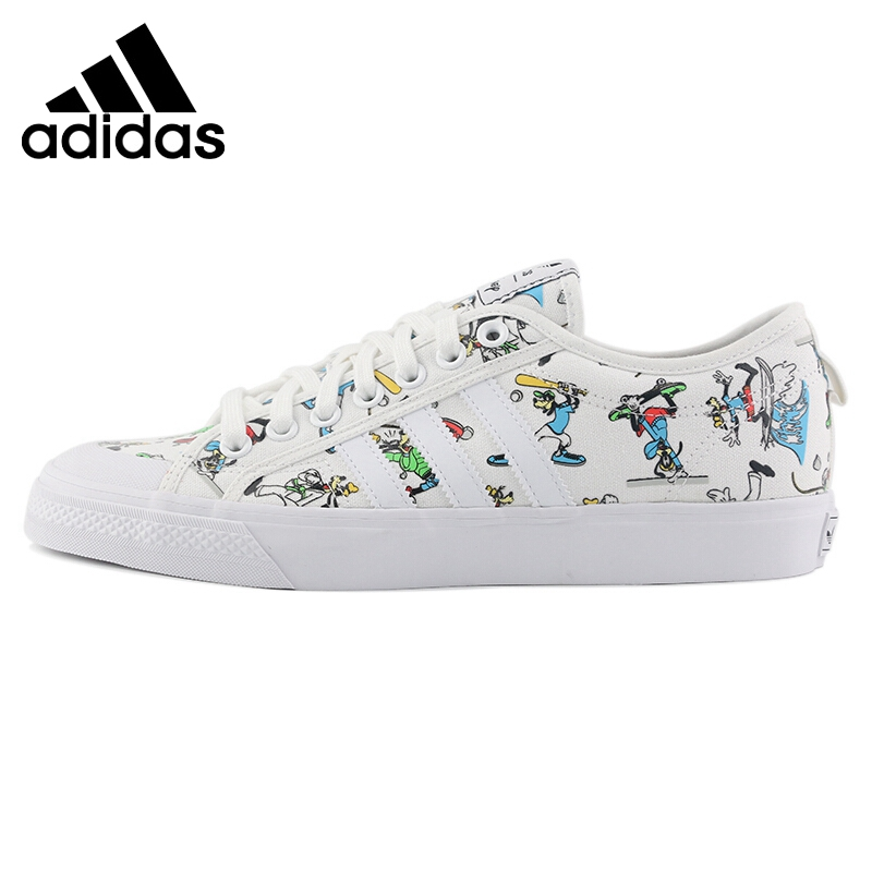Original New Arrival <font><b>Adidas</b></font> Originals NIZZA X DISNEY SPORT GOOFY <font><b>Unisex</b></font> Skateboarding Shoes Sneakers image