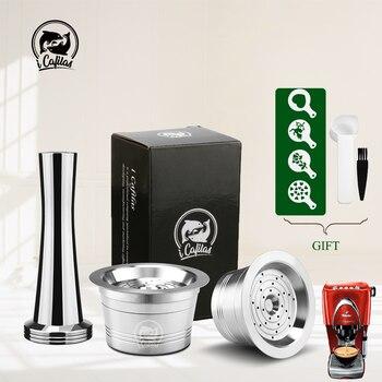 ICafilas Nachfüllbare Tchibo Cafissimo Klassische Kaffee Kapsel Pod Reusable Kaffee Filter Für Caffitaly K-gebühr Maschine
