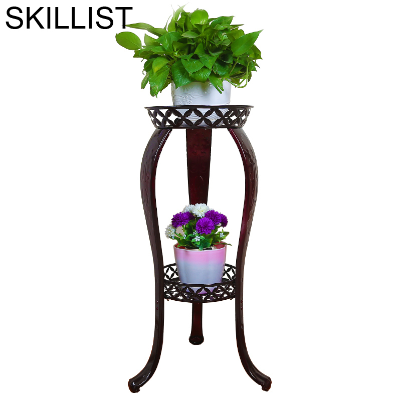 Salincagi Mensole Per Fiori Decor Iron Terrasse Decoration Flower Stand Balkon Balcony Plant Shelf