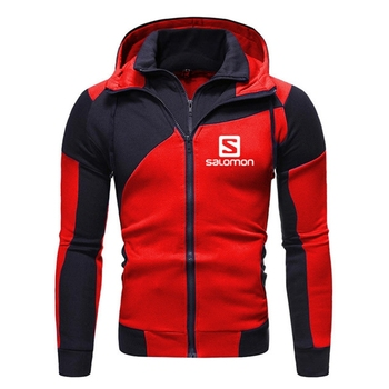2020 New Fashion Hoody S Printed Autumn Men Hoodies Sweatshirts Casual Hooded Sportswear Jacket Coat Double layer Zip Cardigan 2