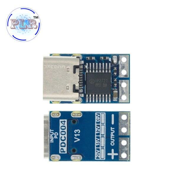 PDC004-PD PD манок модуль Ip2721 PD23.0 к DC триггер кабель-удлинитель для PLR QC4 зарядное устройство 9V 12V 15V 20V TYPE-C