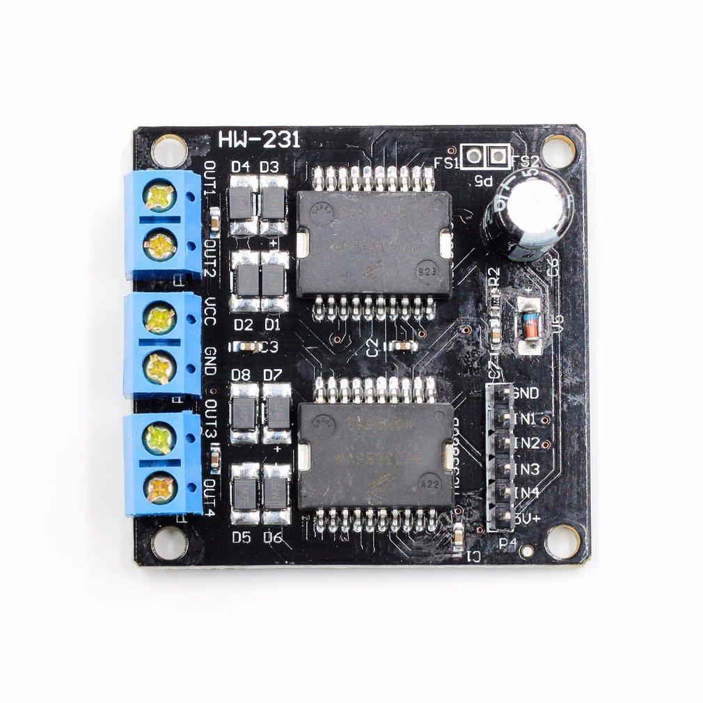 Mc33886 Motor Drive Module 4 Channel Output Robot Smart Car Motor Stepper Motor|Home Automation Modules| |  - title=