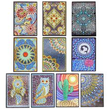 Creative DIY Diamond Painting Special Shaped Notebook Diary Book A5 Embroidery Cross Stitch Craft Gift стоимость