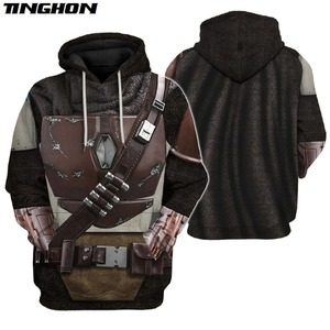 The Mandalorian Armor 3D All Over Printed Hoodie Men/Women Harajuku Fashion hooded Sweatshirt Cosplay Casual Jacket Pullover