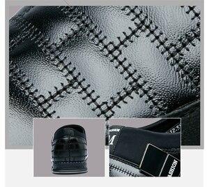 Image 5 - オックスフォードレザー靴ファッションでフォーマルなビジネスシューズのためのカジュアル革靴マンドロップシッピング