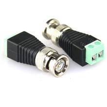 Connecteur BNC mâle/femelle à vis AV, 10 pièces, caméra CCTV vidéo Balum, prise de Terminal