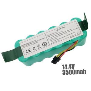 Image 2 - 7pcs NI MH 14.4V 3500mAh for panda X500 Battery Battery for Ecovacs Mirror CR120 Vacuum cleaner Dibea X500 X580 X600 battery
