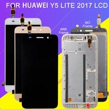 Catteny Y3 2018 дисплей для Huawei Y3 2017 ЖК сенсорный экран дигитайзер сборка CRO-L22 L02 L03 L23 U00 Y5 Lite 2017 ЖК + рамка