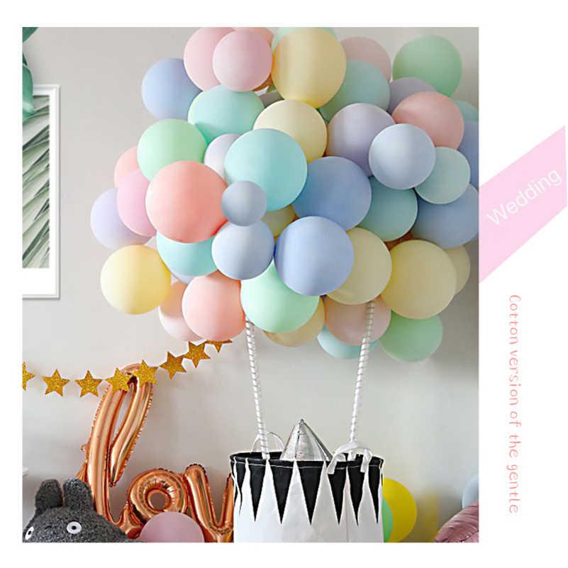 Balony urodzinowe 18in/24in/36in lateksowy balon z helem pogrubienie okrągły balon na imprezę Party Ball Kid zabawka dziecięca balony ślubne