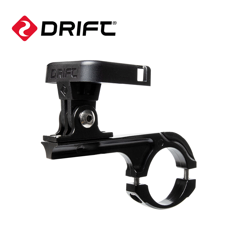 New arrivaDrift original accessories for Ghost XL Ghost X 4k Ghost S Motorcycle helmet camera bicycle Handlebar Mount 2 0