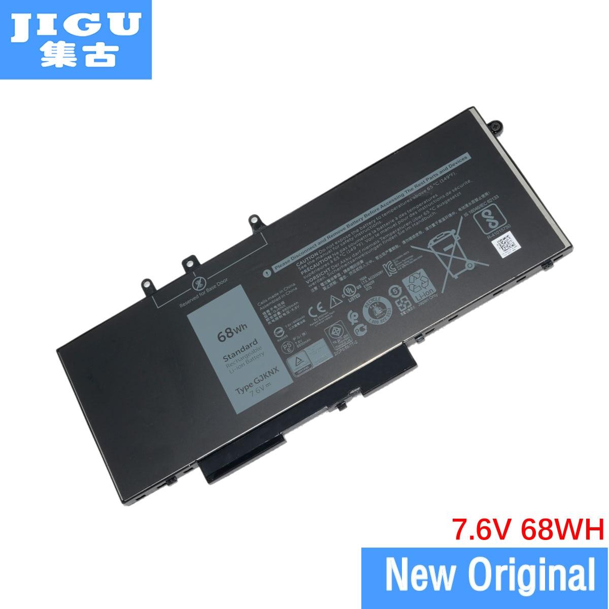 JIGU Original Laptop Battery GJKNX GD1JP For Dell For Latitude 5480 5490 5491 5580 E5280 E5580 7.6V 68WH