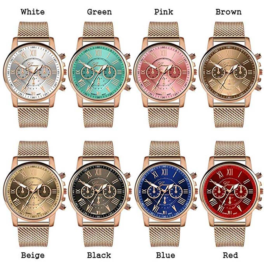 Lovers Quartz Watch Silicone Band Casual Sports Round Dial Wristwatch Gifts TY66