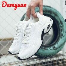 Damyuan 2019 Winter New Air Cushion Fashion Comfortable Warm Men Sneakers Outdoor Jogging Walking Leisure Running Shoes Size 44