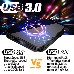 Image 5 - וtranspeed H9 X3 אנדרואיד 9.0 8K 4K טלוויזיה תיבת 4GB 64GB 32G UltraHD HDR 5G 1000M wifi Amlogic S905X3 Youtube מאוד מהיר טלוויזיה תיבה