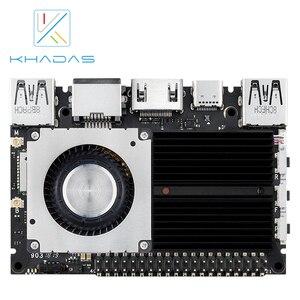 Image 5 - Khadas ordenador de placa única, SBC Edge V Pro RK3399 con DDR4 de 4G + 32GB EMMC5.1