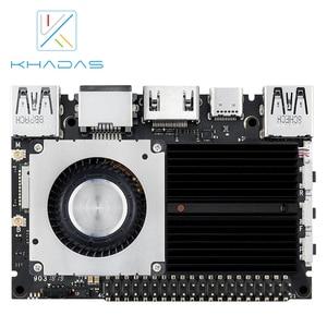 Image 5 - 新しい khadas sbc エッジ v プロ RK3399 と 4 グラム DDR4 + 32 ギガバイト EMMC5.1 シングルボードコンピュータ