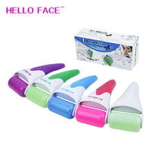 Ice Roller Face Massager Gentle Facial Massage Under Eye Puffiness Facial Cool Ice Rollers for Migraine Pain Relief