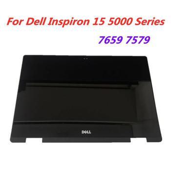 15 6 Cal do Dell Inspiron 15 5568 5578 5579 7569 7579 P58F P58F001 wyświetlacz LCD ekran dotykowy zgromadzenie + ramka tanie i dobre opinie LEDOLED Laptop Dell Inspiron 15 5000 Series 1920X1080 15 6 inch