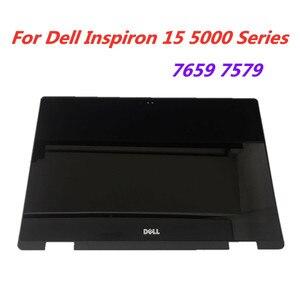 Dell Inspiron 15 5568 5578 5579 7569 7579 P58F P58F001 ЖК-дисплей с сенсорным экраном в сборе + рамка