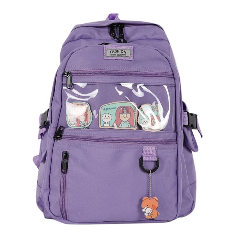 Купить женский рюкзак повседневный школьный для школы дорожный девочек