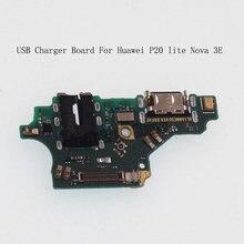Зарядная плата с usb разъемом для huawei p20 lite модуль микрофона