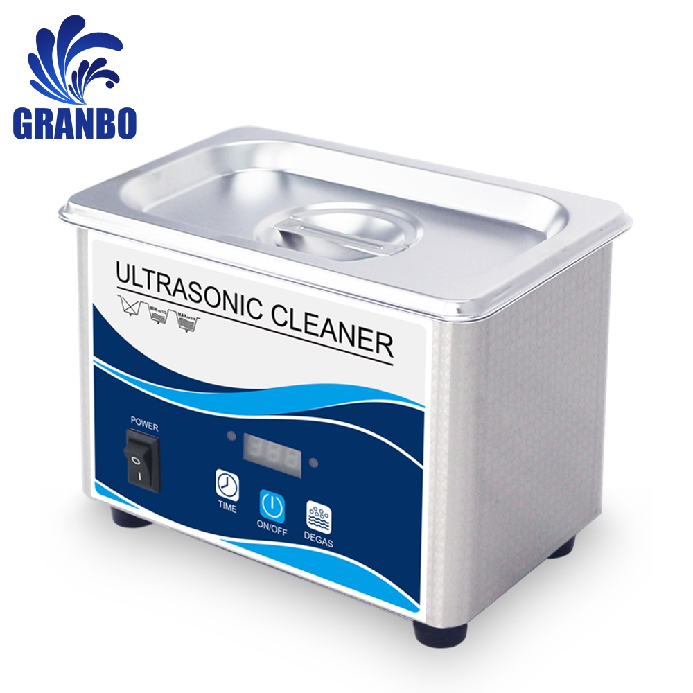 Granbo Home Ultrasound Washer 800ml 60W Digital Timer Ultrasonic Cleaner Bath Sonicator Jewelry Coins E-cig Parts Manicure Tools