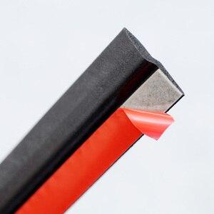Image 2 - Strisce di tenuta in gomma per portiera per auto isolamento acustico a forma di Z guarnizione in gomma Epdm tipo Z guarnizione in gomma per accessori interni auto