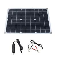 حار 50 واط الألواح الشمسية 12 فولت/5 فولت USB الألواح الشمسية منظم للسيارة يخت RV أضواء تهمة