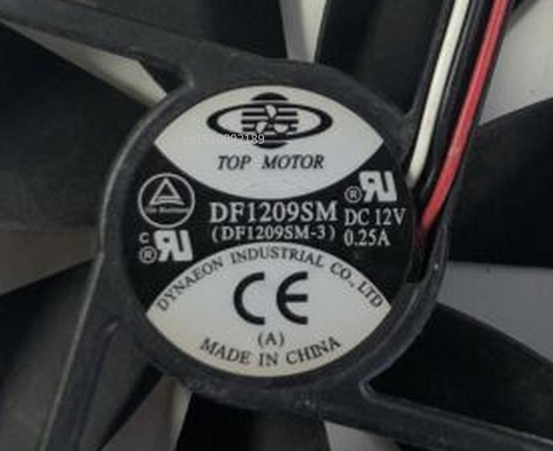 Free Shipping Computer Case Cooling Fan TOP MOTOR 9225 9CM 12V 0.25A DF1209SM Fan
