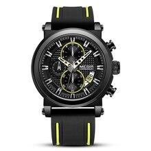 MEGIR Luxury Brand Quartz Watch for Men Big Dial Sport Men Watches Chronograph Wrist Watch Man Kol Saat Jam Tangan Pria Dropship цена и фото