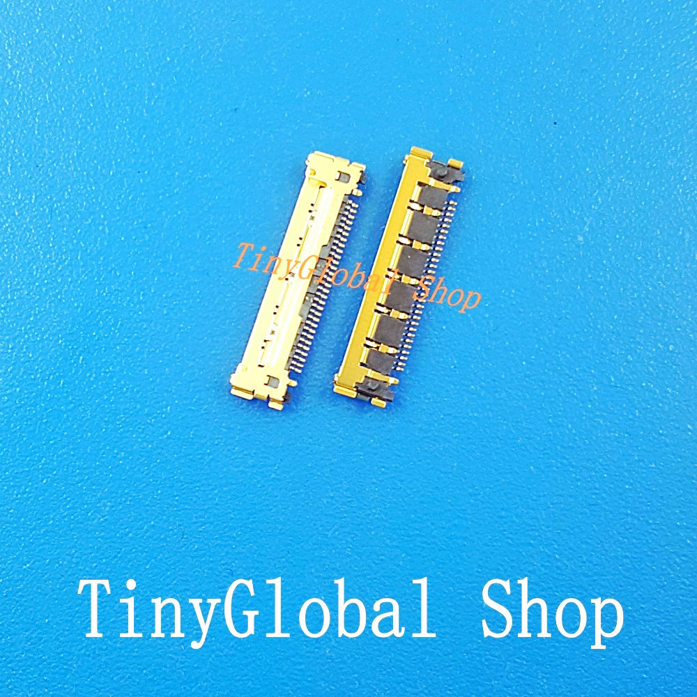 2pcs/lot Coopart New LCD FPC <font><b>display</b></font> screen <font><b>Connector</b></font> Port plug on mainboard for ipad2 ipad 2 top quality replacement image