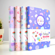 Macaroon Cute Hard Cover Any Date Monthly Weekly Planner Agenda Journal Diary Free Note