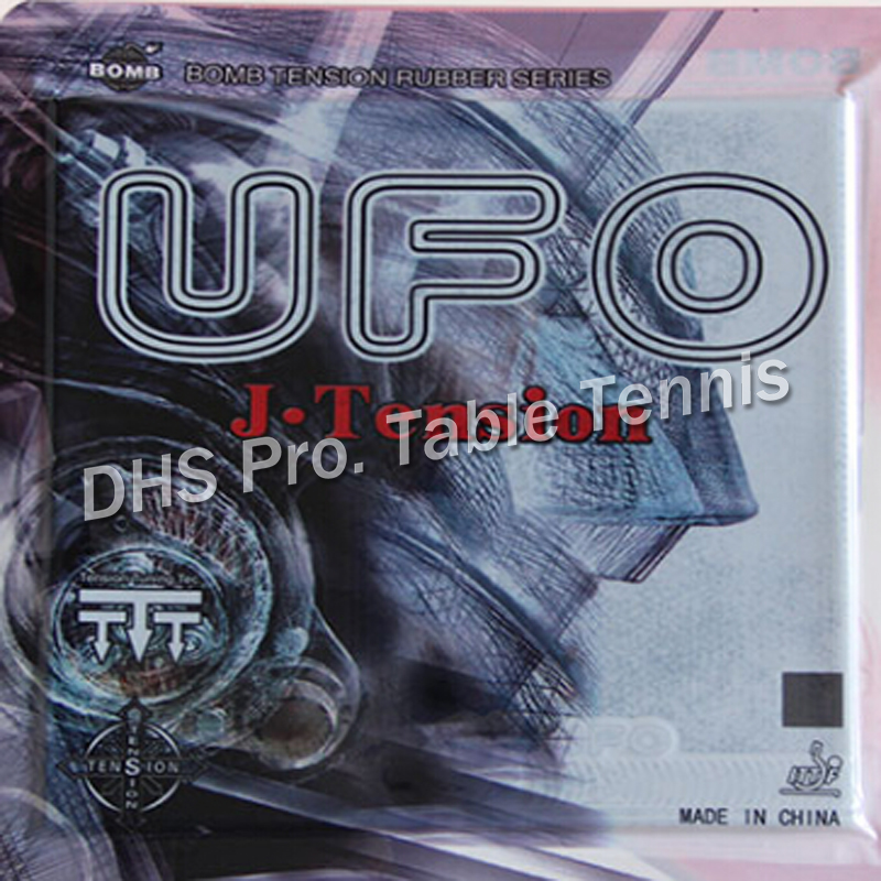 1x Bomb UFO J.Tension Professional Pips-In Table Tennis (PingPong) Rubber With Japan Sponge