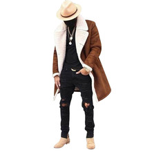 Jacket Men's Fashion Wool Warm Winter Casual Thicker Trench