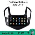 Android 9,0 для Chevrolet Cruze J300 J308 2013 2014 2015 WIFI Автомагнитола мультимедийный видеоплеер навигация GPS No 2Din DVD OBDII