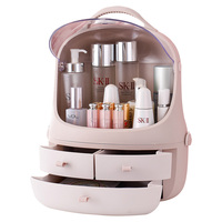 cosmetics organizer waterproof and dustproof box for cosmetics makeup box for cosmetics storage skin care jewelry draw organizer