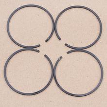 48 мм x 1,5 мм набор поршневых колец для Husqvarna 61 365 261 262 162 165 265 503289015 запасные части для бензопилы 4 шт