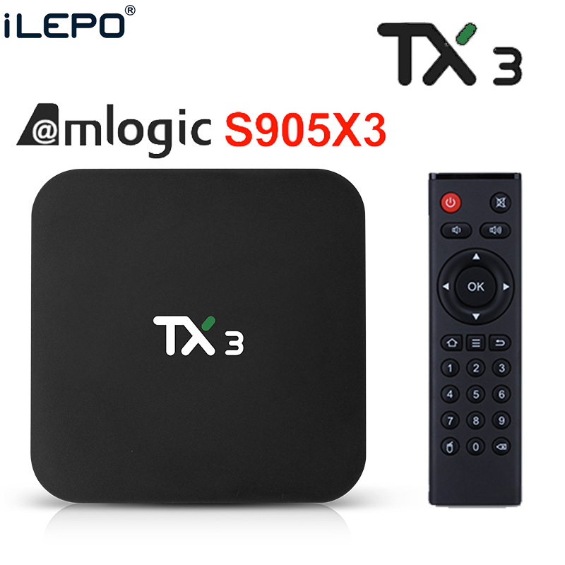 TX3 Amlogic S905X3 Android 9.0 TV BOX 4GB 64GB 32GB Wifi 4K 8K 24fps Netflix 2GB16GB Set Top Box PK TX3 Mini H96 MINI